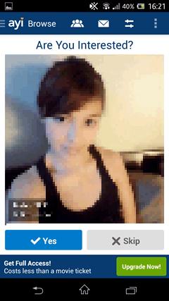 FirstMet Dating 女性プロフィール1