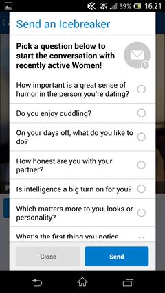 FirstMet Dating メッセージ1