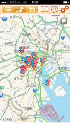 BigLink(ビッグリンク) 街コン地図一覧