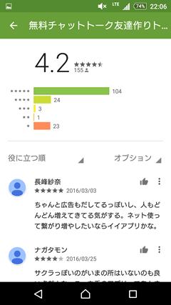 カップルぽよ GooglePlay口コミ