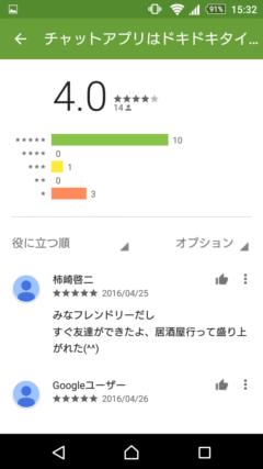 ドキドキタイム GooglePlayの口コミ
