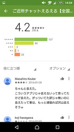 えるえる GooglePlay評判