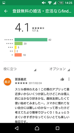 find GooglePlay口コミ