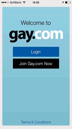 Gay.com TOPページ