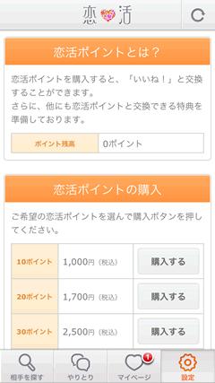 恋活 料金2