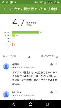 マジカルキャンディ GooglePlay口コミ