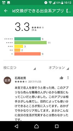 PERSON(パーソン) GooglePlay口コミ