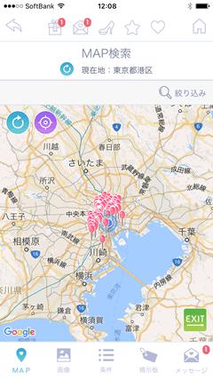 snazeetalk(スナジートーク) マップ表示