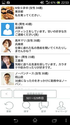 STAR LINE ユーザー一覧
