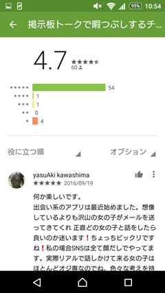 TIME GooglePlay口コミ